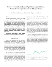 "Ramos, Daniel, and Gabriel Zanko. ""Review of Central Bank-Issued Digital Currency (CBDC) as a Vehicle for Widespread Adoption of Digital Assets."" (2020)."